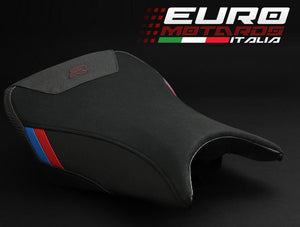 BMW S1000R 2014-2015-2017 Luimoto Tec-Grip Suede Motorsports Rider Seat Cover