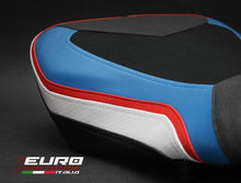 Load image into Gallery viewer, BMW S1000RR 2015-17 Luimoto Technik Tec-Grip Suede Rider Seat Cover /Gel Option