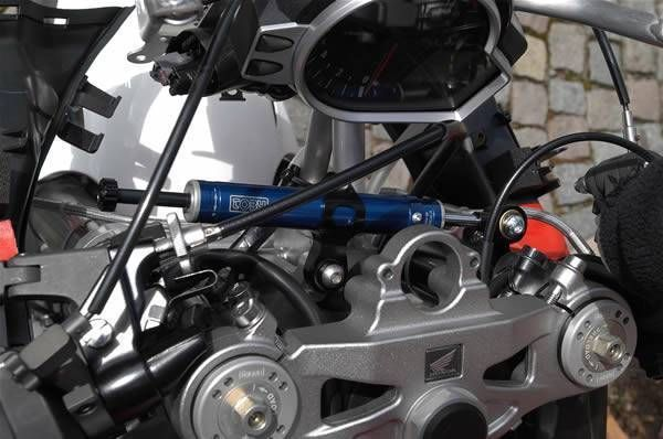 Honda CBR1000RR 2008-16 Toby Steering Damper Stabilizer Kit Racing Use Ti/Carbon