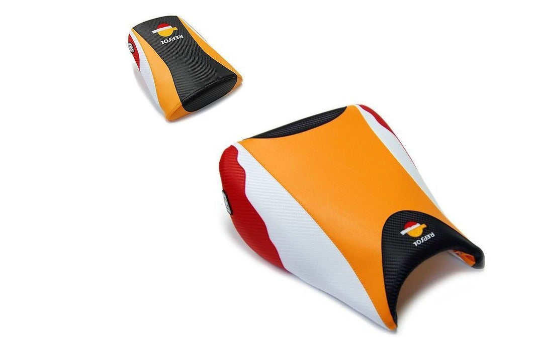 Honda CBR1000RR 2004-2007 Luimoto Repsol Edition Seat Cover Set Front & Rear New