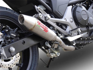 Honda NC750 X-S 2014-18 GPR Exhaust Systems Powercross Slipon Muffler Road Legal