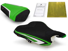 Load image into Gallery viewer, Kawasaki ZX6R 2013-2018 Luimoto Anniversary Edition Seat Cover Rider & Passenger