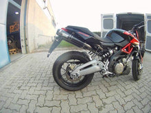 Load image into Gallery viewer, Aprilia Shiver SL 750 Silmotor Italia Exhaust Mid System With Carbon Silencers