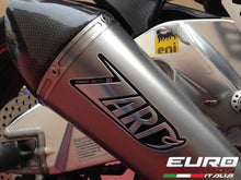 Load image into Gallery viewer, Aprilia Tuono V4 R Zard Exhaust Conical Titanium Silencer Carbon Cap