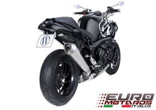 Load image into Gallery viewer, BMW K1200S K1200R Zard Exhaust Conical Steel Silencer Road Legal Muffler