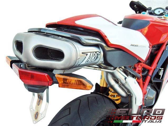 Ducati 749R 999S 999R Monoposto Single Seat Zard Exhaust Full System +6HP
