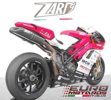 Load image into Gallery viewer, Ducati 1198 SBK Zard Exhaust 70mm Full System & Penta-Evo Carbon Silencers +8HP
