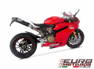 Ducati 1199 Panigale Zard Exhaust Full System Penta Carbon Caps & Tail Kit +20HP