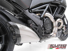 Load image into Gallery viewer, Ducati Diavel 2011-2016 Zard Exhaust Full System With Carbon Cap Silencer