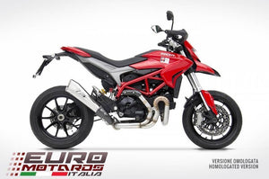 Ducati Hypermotard 821 939 2013-15 Zard Exhaust Full Road System Limited Edition