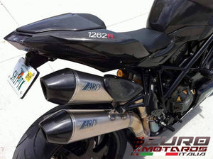 Ducati Streetfighter Zard Exhaust Steel System & Titanium Silencers +3HP