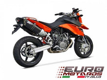 Load image into Gallery viewer, KTM 950 SM / 990 SM SMT Zard Exhaust 2 Penta Carbon Racing Slipon Silencers