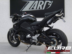 Suzuki B-King 1340 Zard Exhaust Dual Penta Black Slipon Silencers +5HP