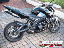 Load image into Gallery viewer, Suzuki B-King 1340 Zard Exhaust Dual Penta Black Slipon Silencers +5HP