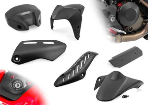 Ducati Monster 1200 14-16 CNC Racing Carbon Fiber Kit 8pcs Fenders Heat Shields
