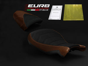 BMW R nineT 14-19 Luimoto Vintage Seat Cover Set Perforated Suede /Gel Option