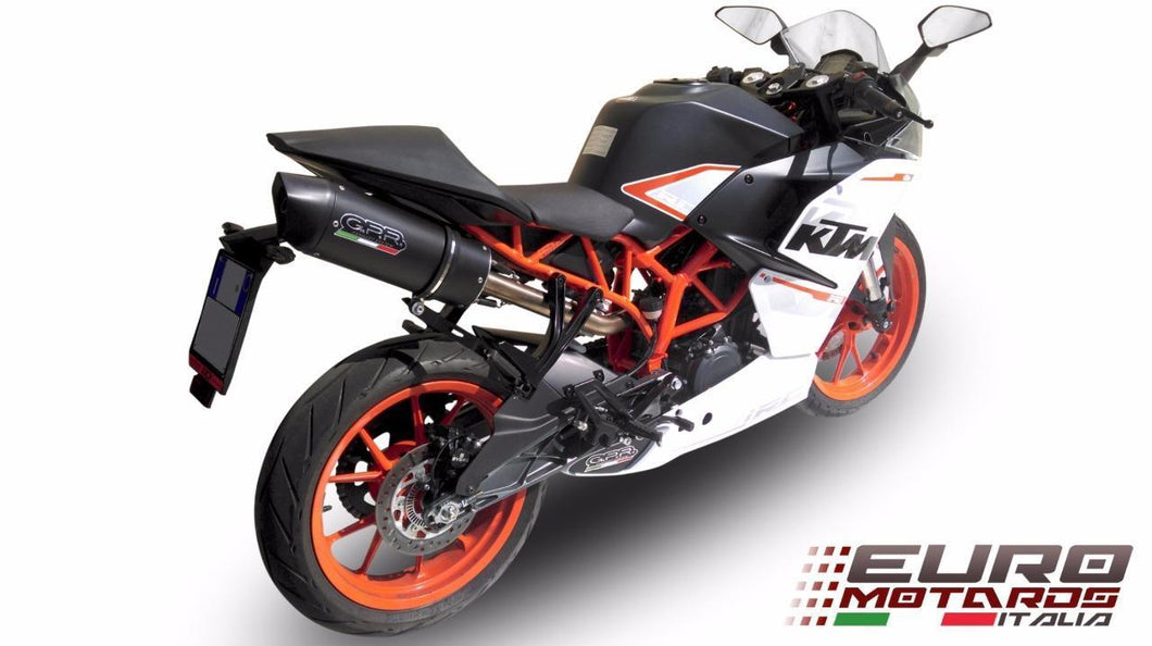 GPR Exhaust Furore Slipon Silencer Road Legal High Mount for KTM RC390 2014-2016