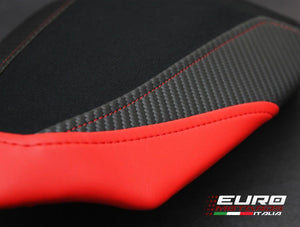 Ducati 1299 Panigale Luimoto Suede Tec-Grip Veloce Seat Cover Set /Gel Option