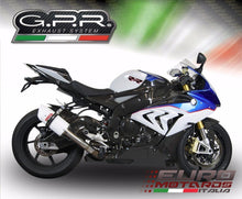 Load image into Gallery viewer, BMW S1000RR 2015 GPR Exhaust Albus White Slipon Silencer Race Short
