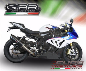 BMW S1000RR 2015-2016 GPR Exhaust Systems Furore Slipon Silencer Road Legal New