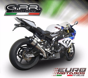 BMW S1000RR 2015 GPR Exhaust GPE Ti Titanium Silencer Racing Short