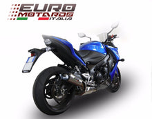 Load image into Gallery viewer, Suzuki GSXS 1000 2015-2017 GPR Exhaust GPE Ti Titanium Tiburon Silencer