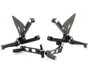 Ducabike Adjustable Rearsets Black Ducati Sport Classic 1000 Supersport 00>