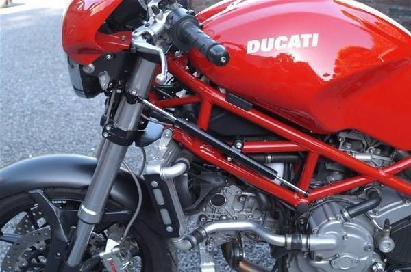 Ducati Monster S2R S4R 2003-2009 Toby Belgium Steering Damper & Mount Kit New