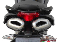 Load image into Gallery viewer, Aprilia Shiver 750 Zard Exhaust Penta Black Ceramic Silencers Road Legal