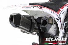 Load image into Gallery viewer, Honda CRF 450 2013-2014 Zard Exhaust Full System Titanium Silencers Carbon Caps