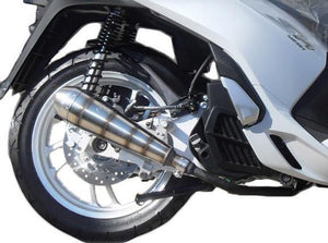 Honda SH 125 Mode 2013-2014 Endy Exhaust Full System GP Hurricane