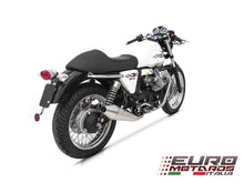 Load image into Gallery viewer, Moto Guzzi V7 Cafe Racer /Classic 08-11 Zard Exhaust System + Steel Silencers