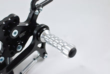 Load image into Gallery viewer, Suzuki GSXR 750 2000-2005 ARP Adjustable Rearsets RSS04 Standard & Reverse Shift