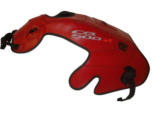 Honda CB500X 2013-2014 Top Sellerie Gas Tank Cover Bra TAP6119 Red