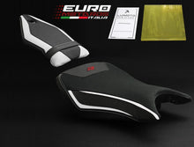 Load image into Gallery viewer, BMW S1000R Naked 2014-2015-2017-2018-2019 Luimoto Technik Suede Seat Cover Set