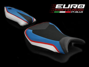 BMW S1000RR 2015-2017 Luimoto Technik Tec-Grip Suede Seat Cover Set /Gel Option