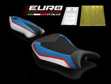 Load image into Gallery viewer, BMW S1000RR 2015-2017 Luimoto Technik Tec-Grip Suede Seat Cover Set /Gel Option
