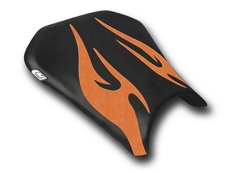 Honda CBR600RR 2005-2006 Luimoto Tribal Flame Rider Seat Cover 8 Color Options