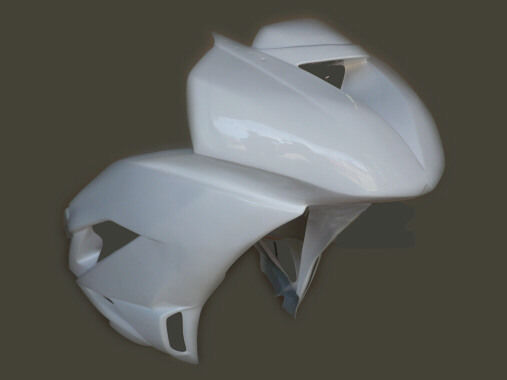 Kawasaki ZX6R ZX6RR 636 09-12 Sebimoto Race Fairings Kit Fiberglass Kevlar 3pc
