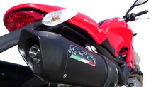 Load image into Gallery viewer, Ducati Monster 1100 2009-2010 GPR Exhaust Systems Furore Dual Slipon Silencers