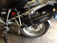 Load image into Gallery viewer, BMW R 1200 GS 2004-2009 /ADV 2005-2009 GPR Exhaust Furore Black SlipOn Silencer
