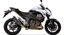 Load image into Gallery viewer, Kawasaki Z800 Z 800 2013-2016 GPR Exhaust Systems GPE CF Slipon Muffler Silencer
