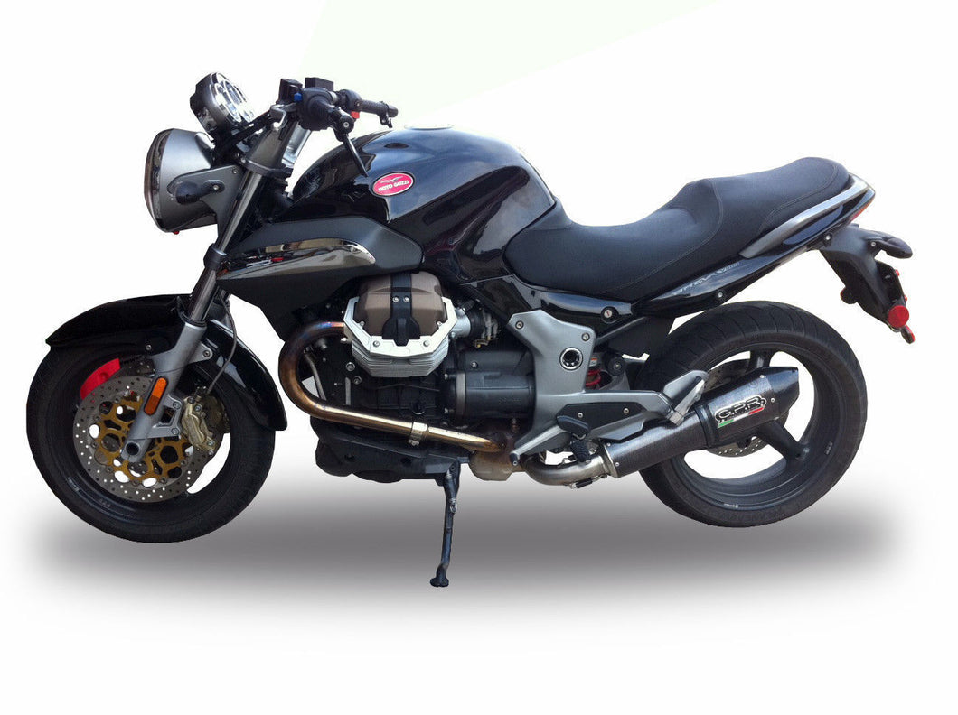 Moto Guzzi Breva 1100 4V 2005-2010 GPR Exhaust Systems GPE CF Slipon Silencer