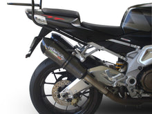 Load image into Gallery viewer, Aprilia Tuono 1000 06-10 GPR Exhaust Systems GPE CF Slipon Mufflers Silencers