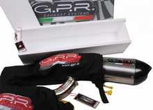 Load image into Gallery viewer, Aprilia Tuono 1000 02-05 GPR Exhaust Systems GPE Ti Slipon Muffler Silencer