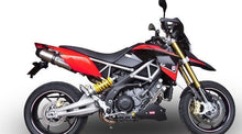 Load image into Gallery viewer, Aprilia Dorsoduro 1200 10-13 GPR Exhaust Systems GPE Ti Slipon Mufflers
