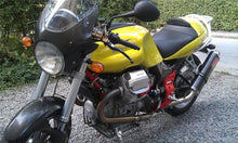 Load image into Gallery viewer, Moto Guzzi V11 2/1 GPR Exhaust Systems Oval Carbonox Slipon Muffler Silencer