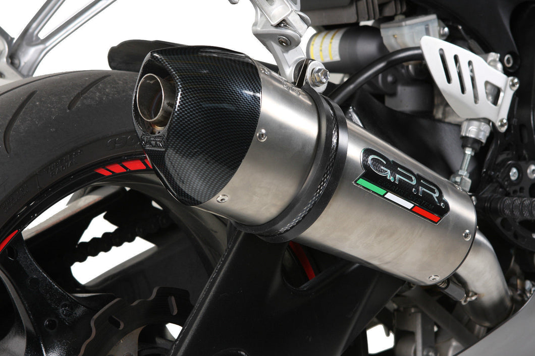 Suzuki GSXR 1000 K5 2005-06 High Mount GPR Exhaust Systems GPE Ti Slipon Muffler