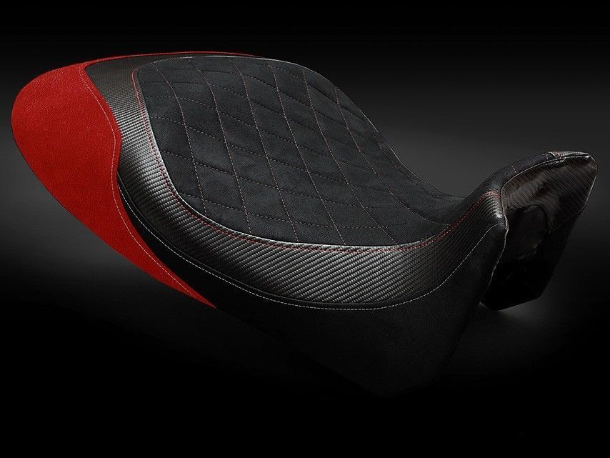 Ducati Diavel 2011-2014 Luimoto Diamond Suede Seat Cover 4 Color Options New