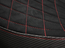 Load image into Gallery viewer, Ducati Diavel 2011-2014 Luimoto Diamond Suede Seat Cover 4 Color Options New